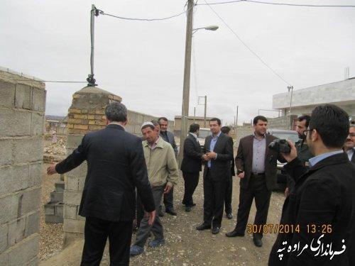 حضور معاون سیاسی امنیتی استانداری گلستان در شهرستان مراوه تپه