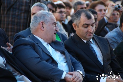 آیین نکوداشت مختومقلی فراغی شاعر و عارف ترکمن در مراوه تپه برگزار شد