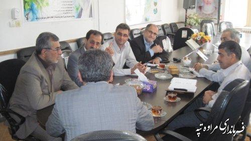 حضور مدیر عامل شرکت مخابرات استان در مراوه تپه