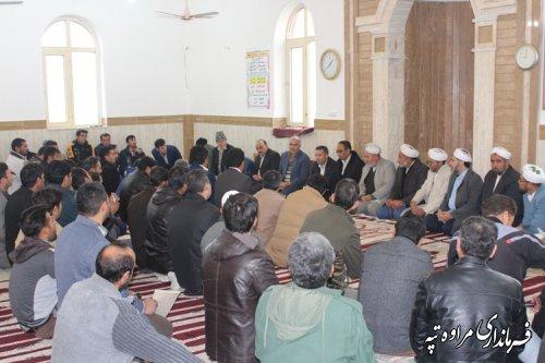 برگزاری همایش انتخاباتی دهیاران و شوراهای اسلامی بخش گلیداغ