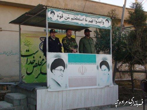 فرماندار مراوه تپه : انقلاب ما به فرموده حضرت امام (ره) حکومت الله است و این نظام یک نظام الهی است .