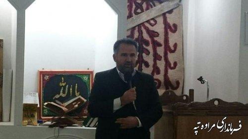 فرماندار مراوه تپه : شرکت در انتخابات حق هر ایرانی است که به برکت وجود نظام اسلامی به ما هدیه شده است .