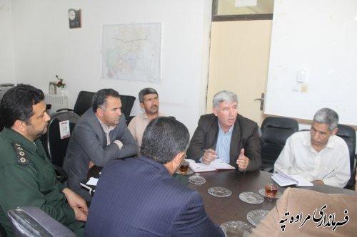 تشکیل جلسه کمیته مردمی اقتصاد مقاومتی شهرستان مراوه تپه