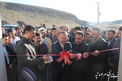 افتتاح 5 پروژه آبرسانی روستایی در شهرستان مراوه تپه