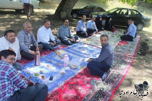 مدیر کل اداری و مالی استانداری گلستان از فرمانداری مراوه تپه بازدید کرد