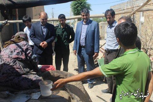 بازدید از خانواده های مددجویان کمیته امداد در قالب طرح مفتاح الجنه