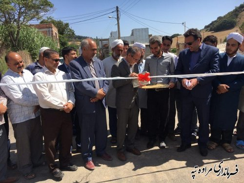 پروژه های عمرانی (آسفالت معابر) بصورت متمرکز در روستای شارلوق گوگلان انجام شد.
