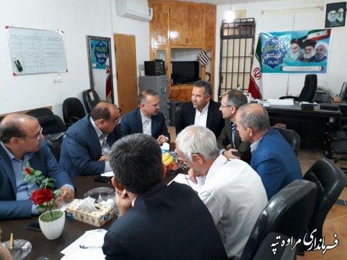 جلسه کمیته تصویب مغایرتهای طرح هادی در محل فرمانداری شهرستان مراوه تپه برگزار گردید.