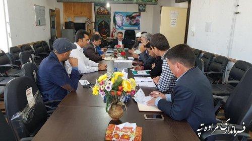 جلسه هماهنگی هفته پدافند غیر عامل با حضور مسئولین ادارات  تشکیل گردید