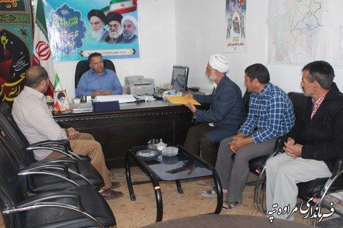 ملاقات عمومی فرماندار با مردم شهرستان مراوه تپه برگزار شد