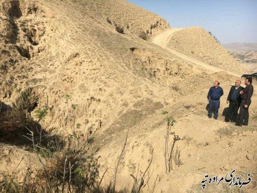 بازدید بخشدار گلیداغ از روستای چشمه لی