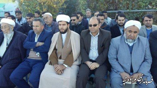 مراسم صبحگاه مشترک بمناسبت هفته بسیج برگزار شد.