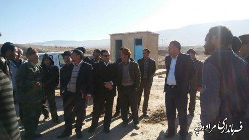 بازدید فرماندار مراوه تپه از منطقه عشایری بهارمیدان برای بررسی مشکلات این عشایر