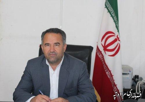 پیام تاجی فرماندار مراوه تپه  به مناسبت ٢٢ اسفندماه روز بزرگداشت شهدا
