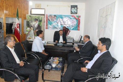ملاقات عمومی فرماندارشهرستان مراوه تپه  برگزار شد