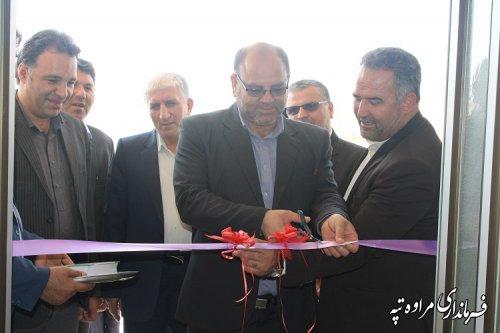 بمناسبت هفته دولت  یک باب مسکن مددجوی در روستای قرقیجق افتتاح شد