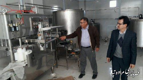 فرماندار مراوه تپه :صنایع تبدیلی در روستاها باعث ایجاد اشتغال بیشتر میشود