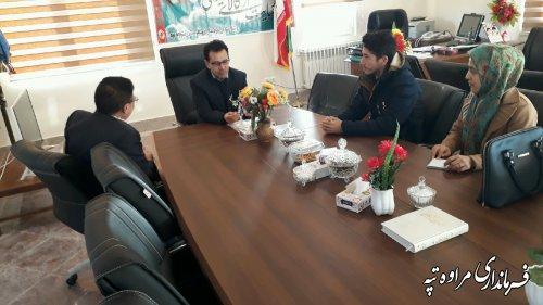 اشتغال، اولین موضوع ملاقات مردمی فرماندار مراوه تپه