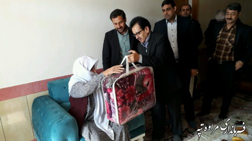 مادر شهید حسین حاجیلی دوجی: آرزویم زیارت خانه خداست