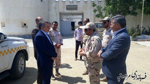 فرماندار شهرستان مراوه تپه : مرزداران حافظان امنیت هستند
