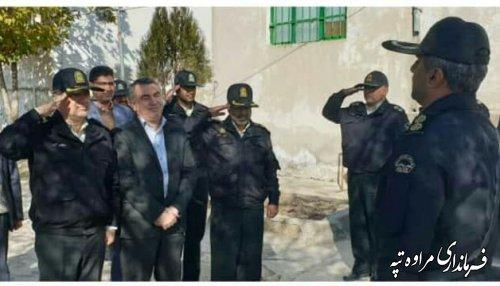 عملیات اجرایی پاسگاه انتظامی گلیداغ آغاز شد.