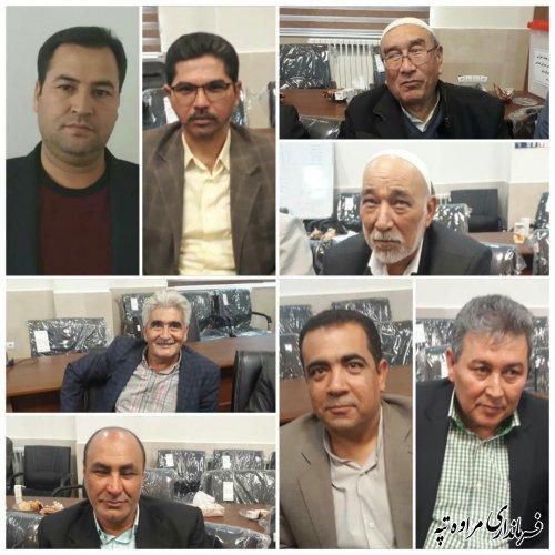 اعضای هیئت اجرایی انتخابات شهرستان مراوه تپه انتخاب و دبیرخانه امور اجرایی آن، فهالیت خود را آغاز نمود.