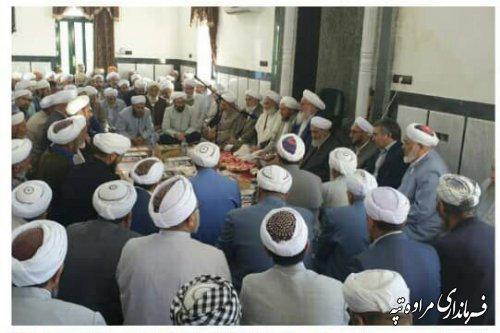 برگزاری مراسم مولودی خوانی در روستای بقه جه گلیداغ.