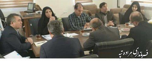 برگزاری جلسه کمیته فناوری اطلاعات انتخابات شهرستان مراوه تپه .