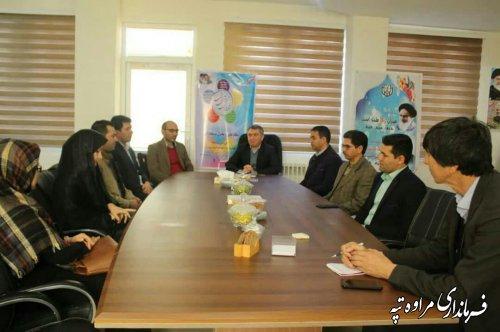 فرماندار شهرستان مراوه تپه گفت:  شورای آموزش و پرورش یکی از مهمترین شوراهای شهرستان است.