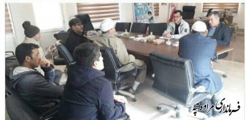 ملاقات عمومی فرماندار شهرستان مراوه تپه با تعدادی از اهالی این شهرستان.