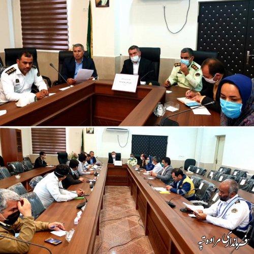 جلسه شورای ترافیک برگزار شد.