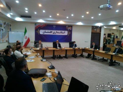 جلسه هماهنگی اجرایی شدن اقدامات تثبیت عرصههای رانشی آق امام برگزار شد