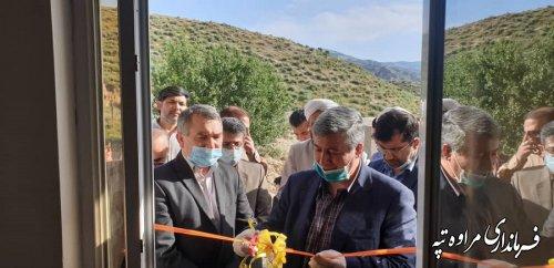 یک واحد مسکونی احداثی سیلزدگان در روستای اق قلعه با  حضور مسئولین استانی و شهرستانی افتتاح شد