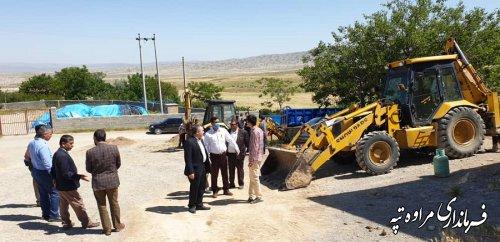 مشکلات روستای بالکور با حضور فرماندار و روسای ادارات بررسی شد