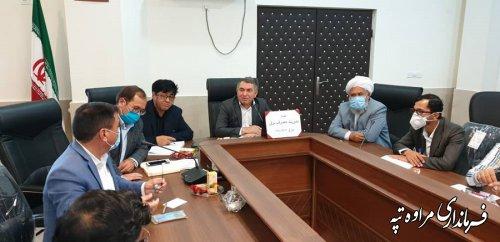 جلسه مدیریت مصرف برق شهرستان مراوه تپه با حضور اعضا برگزار شد.
