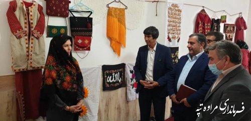 برپایی نمایشگاه صنایع دستی در شهرگلیداغ
