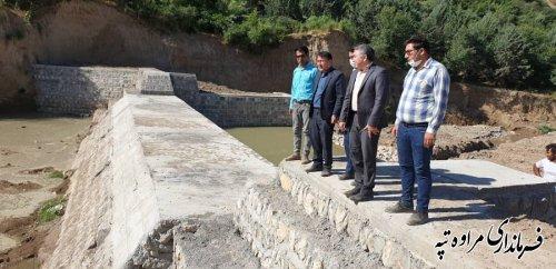 فرماندار مراوه تپه : 72 میلیارد ریال برای اجرای پروژه های آبخیزداری شهرستان تامین اعتبار شده است
