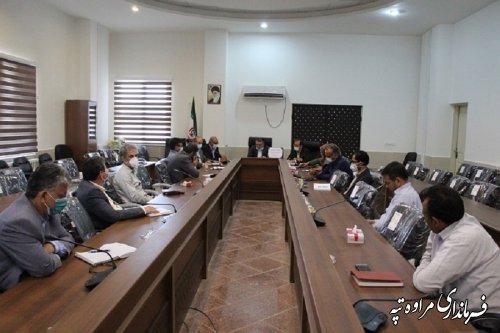 جلسه  ستاد پشتیبانی سوادآموزی شهرستان برگزار گردید