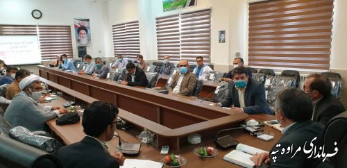 تاکید فرماندار مراوه تپه به رعایت پروتکل های بهداشتی توسط عموم مردم شریف شهرستان