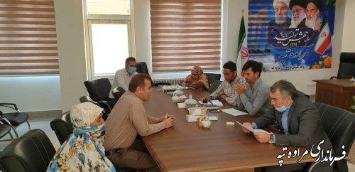 در ملاقات عمومی مسائل و مشکلات مراجعه کنندکان توسط فرماندار مورد بررسی قرار گرفت