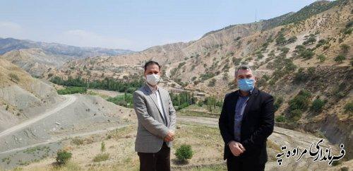 فرماندار مراوه تپه با احمدی مدیر کل ارتباطات و فناوری اطلاعات استان گلستان دیدار کردند