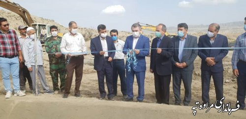 افتتاح سه پروژه سنگی ملاتی با اعتبار 4 میلیارد تومان