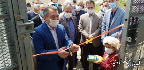 دکل اینترنت پرسرعت و پایدار در پلی علیا بخش گلیداغ افتتاح شد