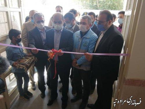 نخستین مدرسه استثنایی شهرستان مراوه تپه با حضور استاندار افتتاح شد
