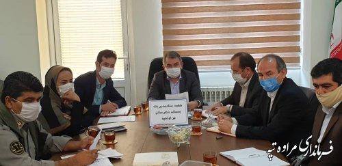جلسه مدیریت پسماند شهرستان مراوه تپه برگزار شد