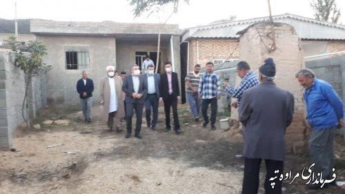 ایجاد خانه بهداشت در روستای چشمه لی بخش گلیداغ