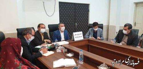 جلسه کمیته شورای مسکن، کمیته حفاری ، کمیته ساخت و ساز غیر مجاز و کمیته مناسب سازی برگزار شد