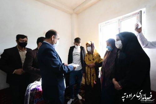 بازدید استاندار گلستان از پروژه های عمرانی شهرستان مراوه تپه
