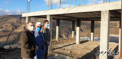 بازدید فرماندار مراوه تپه از خانه بهداشت خیر ساز روستای بیاتلر