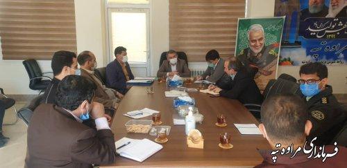 سومین جلسه شورای هماهنگی ثبت احوال شهرستان مراوه تپه برگزار شد